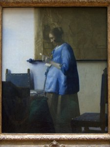 Vermeer's Woman in Blue Reading a Letter.
